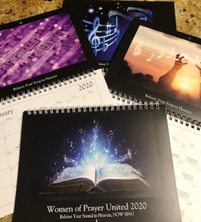 September 2020 Prayer Calendar