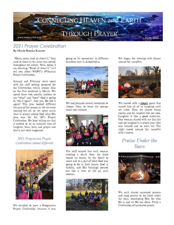 June 2021 Newsletter Pg 1