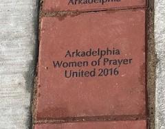 WOPU is written in stone in Arkadelphia